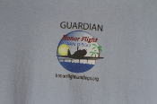 Honor Flight San Diego Logo Guardian T-shirt