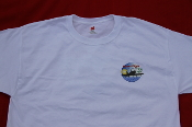 Honor Flight San Diego Logo T-shirt White
