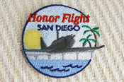 21/4 Honor Flight San Diego Embroidered Logo Patch
